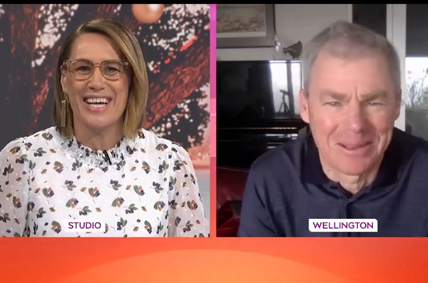 Graham le Gros on TVNZ's Breakfast