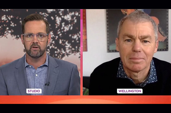 Prof Graham Le Gros on TVNZ Breakfast