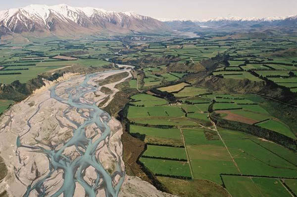 Braided river system