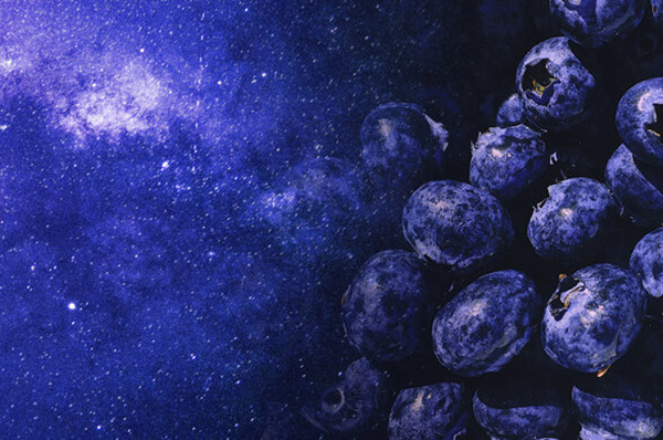 galaxy to blueberries
